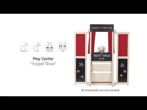 PlanToys | Play Center - Puppet Show