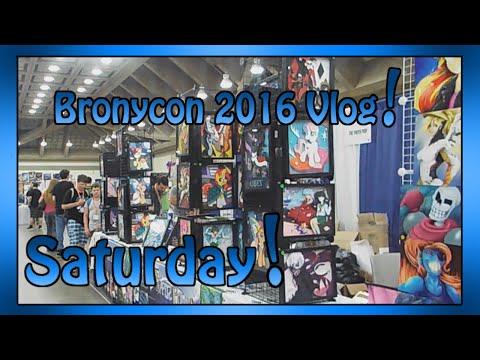 Bronycon 2016 Vlog | Saturday!