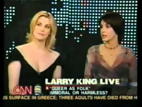 Queer As Folk Live Interview with Larry King