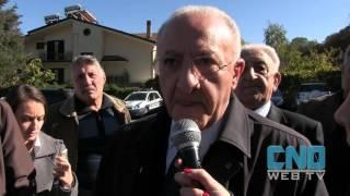 Vincenzo De Luca a Montella per la Sagra della Castagna IGP