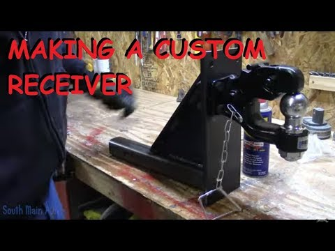 Making A Custom Towing Receiver