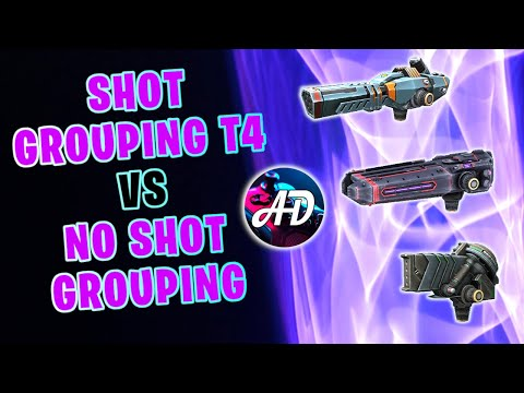 Shot Grouping T4 VS NO Shot Grouping SHOTGUNS - War Robots Mk2 MAX Comparison Gameplay WR
