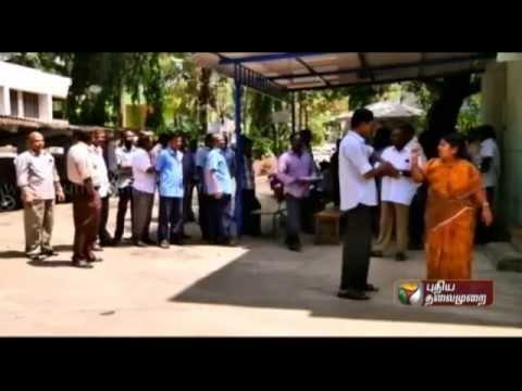 Kanyakumari Aavin Workers Protest
