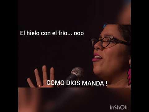 La Santa Cecilia - Como Dios manda ( Karaoke )
