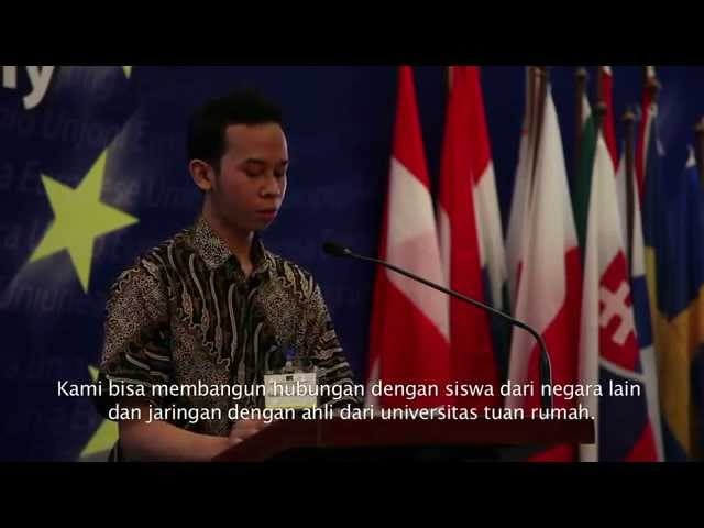 Erasmus Mundus 2012 Award Ceremony & Predeparture Briefing Travel Video