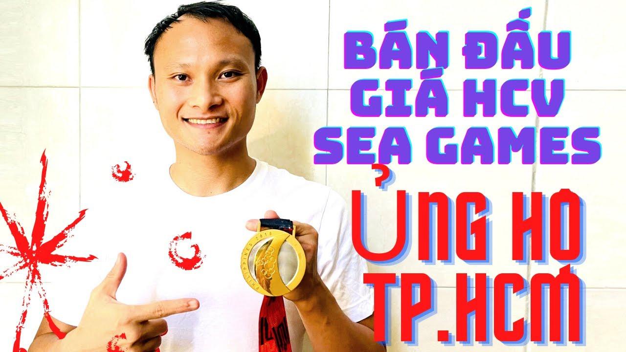 Trọng Hoàng bán đầu giá HCV SEA Games để mua máy thở, ủng hộ TP.HCM