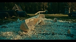The Birth Of A Dugout Canoe by Northmen