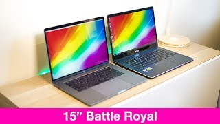 ZenBook Pro v MacBook Pro 15 Which one is better REVIEW Can it be the Best 15 inch Laptop Early 2018