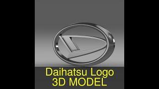 3D Model of Daihatsu Logo Review