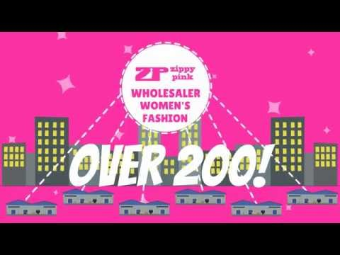 ZippyPink.com - wholesale clothing distributor in Los Angeles.  wholesale fashion apparel specialist