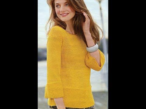 Вязание Спицами Свитеров, Джемперов, Пуловеров - 2019 / Knitting With Knitting Sweaters Sweaters