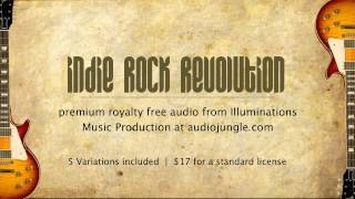 Indie Rock Revolution - Royalty Free Audio - Stock Music