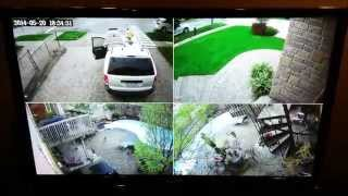 Home Security Cameras - 1080p HD-SDI system