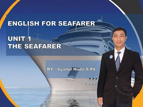 English Maritime Unit 1 The Seafarer