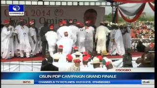 Jonathan, PDP Leaders Woo Osun Citizens Ahead Of Guber Election Pt.13