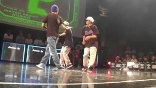 junkstyle vs ReTweet BEST4 KIDS / WDC 2015 FINAL