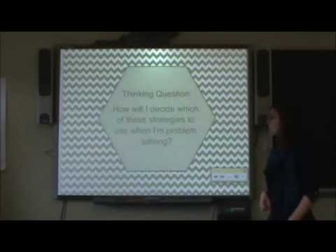 3rd and 4th Grade Problem Solving Strategies - YouTube