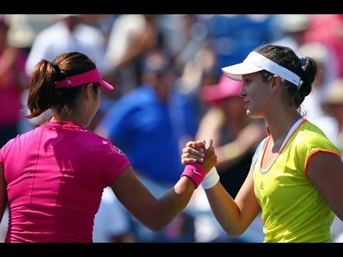 Li Na vs Laura Robson   US Open 2012 - R3