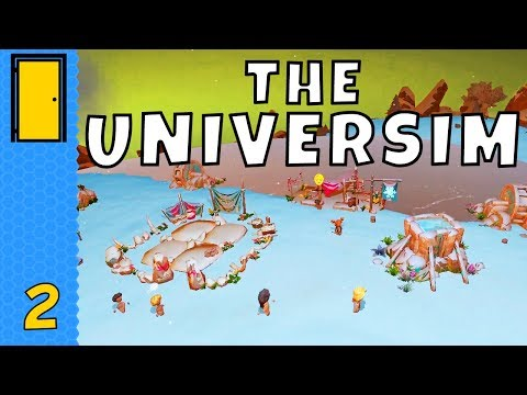 The Universim - Part 2: Population Boom! - Colony Building God Game - Let's Play The Universim