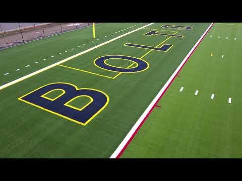 Littlestown High School's New Field in 4k!!!!!
