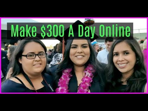 How to Make Money Online Fast - Make Money Online 2017 - Earn $300 a day online