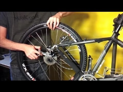 How To Change A Mountain Bike Tire And Inner Tube Youtube