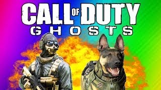 Repeat youtube video COD Ghosts Funny Moments - Ninja Defuse, Funny Killcams, Guard Dog, Chainsaw (Multiplayer Gameplay)