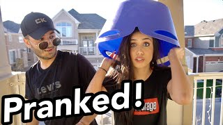 SHE PRANKED ME BACK! **WATER FIGHT**