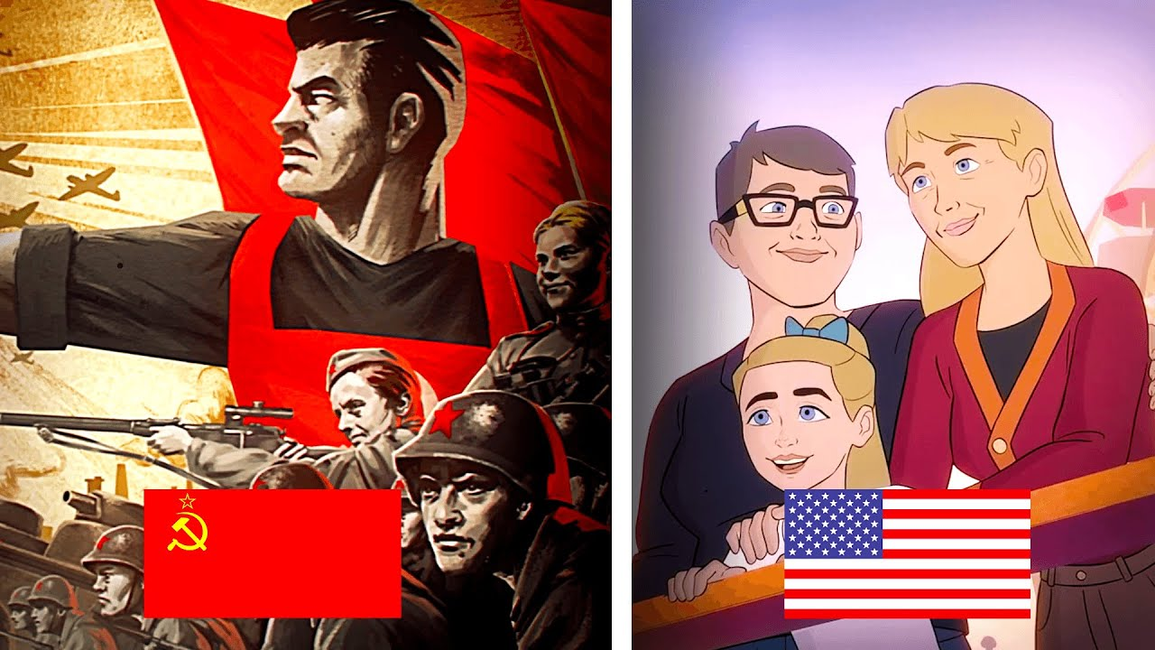 SOVIET ARMY AD vs US ARMY AD
