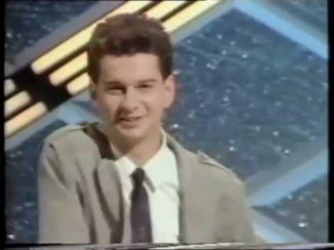Dave Gahan on Pop Quiz 1983