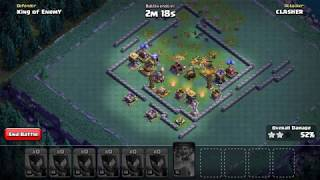 COC | Clash of Clans | 12 Night Witches (Level 14) Attack on Maxed Builder Hall 8 Base