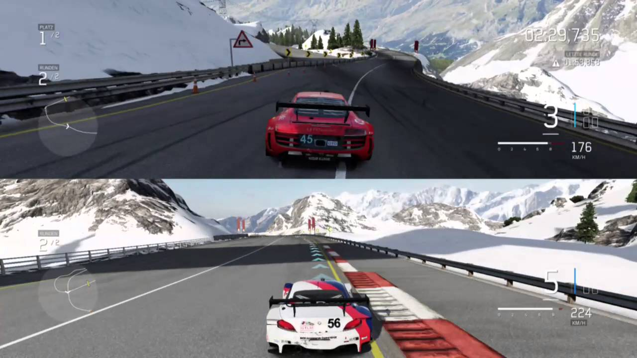 Xbox One Car Game Split Screen