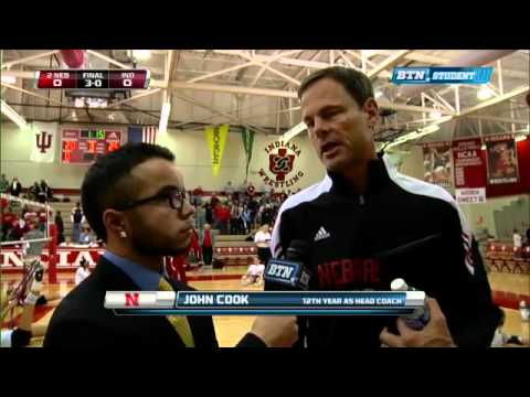 John Cook Interview - Nebraska Volleyball