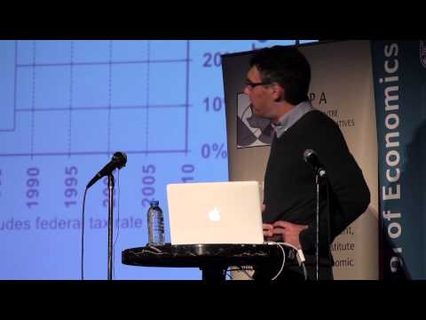 Emmanuel Saez on Income and Wealth Inequality: Evidence and Policy Implications