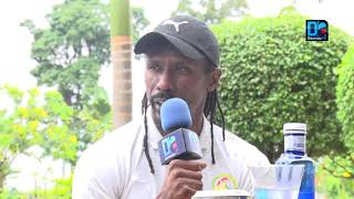 """Aliou Cissé """"veut gagner la CAN"""" et """"ne ferme pas la porte à un retour de El Hadji Diouf...f"""