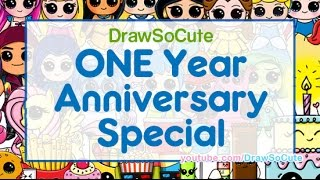 Draw So Cute One Year Anniversary Special - All the Cuteness in One