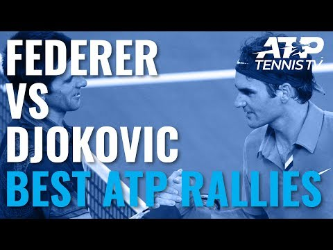 Roger Federer vs Novak Djokovic: Best ATP Rallies Ever