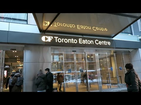 What to Eat at Toronto Eaton Centre Food Court (Urban Eatery)