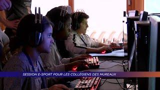 Yvelines | Session d'E-Sport pour les collégiens des Mureaux
