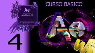After Effects CC, Tutorial como crear una composicion, Curso completo en español Capitulo 4