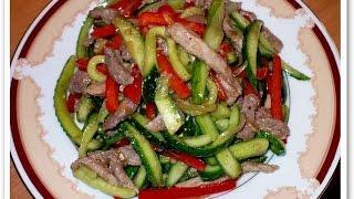 Корейская кухня или что можно сделать из огурцов ✔