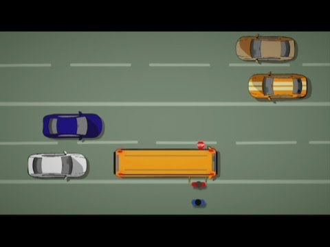 School bus passing laws