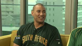 South Africa's National Baseball team go head to head with France