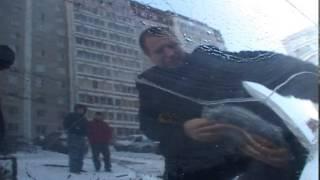 Шпана поцарапала машину