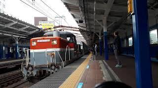 【甲種輸送】DE10 1749号機+東急3020系3123F 関内通過