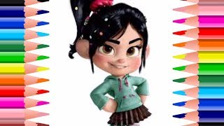 NEW Vanellope von Schweetz Wreck It Ralph How To Draw