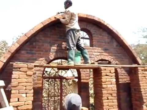 laying brick on groined vault  YouTube