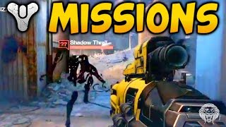Destiny: 2 NEW PATROL MISSIONS! Mystery Puzzle Curiouser & Curiouser + Taken Enemies Spawning Early