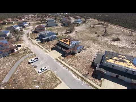 Tyndall AFB housing damage