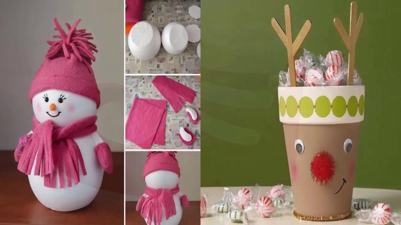 Manualidades y adornos para navidad f cil de hacer youtube - Decoraciones para navidad ...